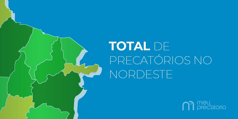 total de precatórios no nordeste