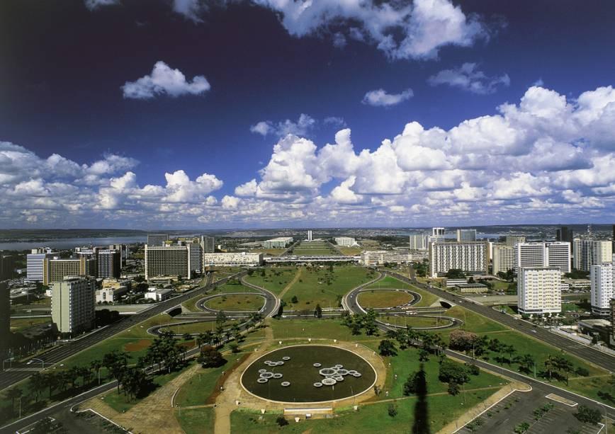 Compensação Tributária no DF - Vista aérea de Brasília