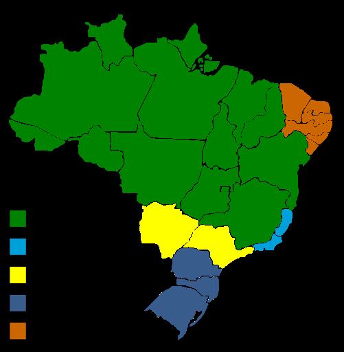 mapa trfs brasil