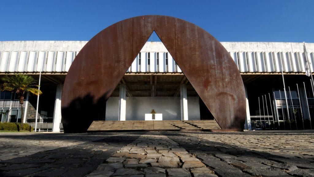 Fachada da Assembléia Legislativa de Minas Gerais