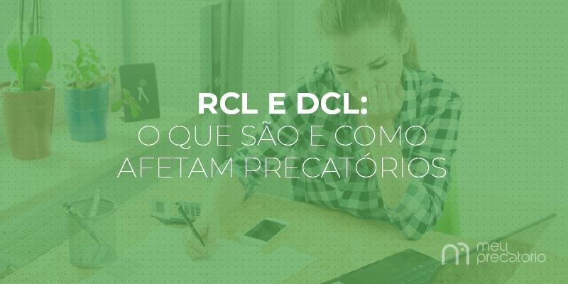 RCL E DCL