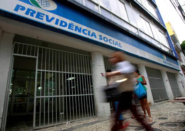 Fachada da Previdência Social, atendimento para os credores de precatório do INSS